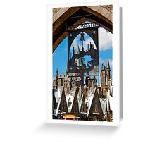 Hogsmeade: Please Respect The Spell Limits Greeting Card