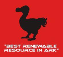 Dodo - Best Renewable Resource in Ark Kids Tee