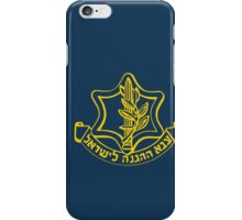 IDF Israel Defense Forces - with Symbol iPhone Case/Skin