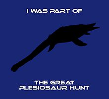 I Was Part of The Great Plesiosaur Hunt Photographic Print