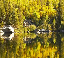 Reflections on Bear Lake by Alex Cassels