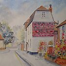 Marine Walk street, Hythe - Kent by Beatrice Cloake Pasquier