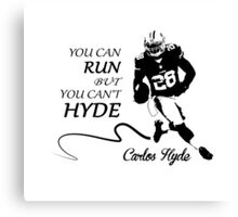 Carlos HYDE full Canvas Print