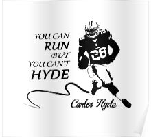 Carlos HYDE full Poster