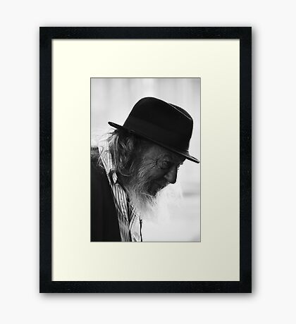 Charlie Two shoes Framed Print