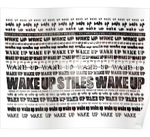Wake up Stiles / Stiles Stilinski / Dylan O'Brien / Teen Wolf Poster