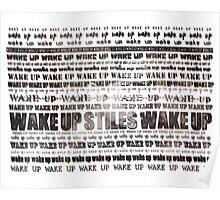 Wake up Stiles / Stiles Stilinski / Dylan O'Brien / Teen Wolf Poster