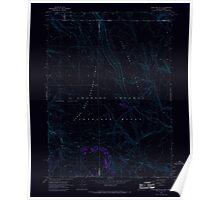 USGS Topo Map Nevada Sage Hen Hills 319969 1966 24000 Inverted Poster