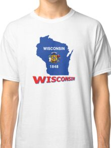 Wisconsin State Flag Classic T-Shirt