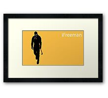 iFreeman Framed Print