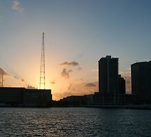 Sunset in Miami by Christina Martinez