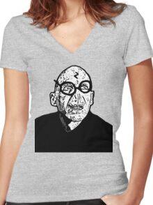 Voldermort Women's Fitted V-Neck T-Shirt