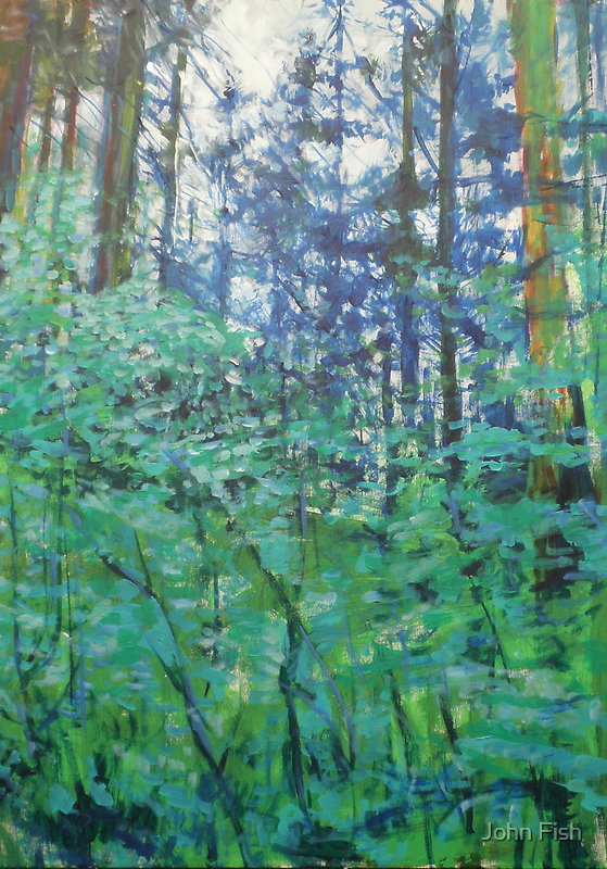 Veil of Green by John Fish