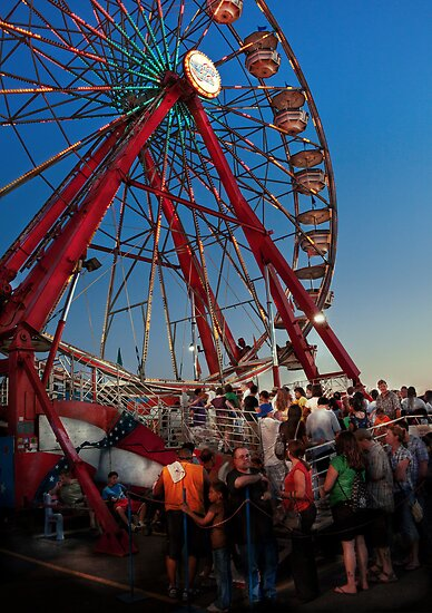 Carnival - An Amusing Ride  by Mike  Savad