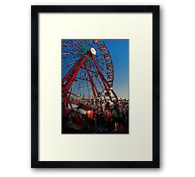 Carnival - An Amusing Ride  Framed Print
