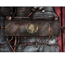 Steampunk - Connections   Photographic Print