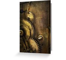 Steampunk - Toothy  Greeting Card