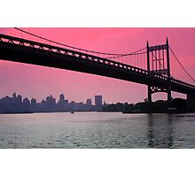 Triborough Bridge Photographic Print