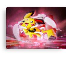 Pokemon Angel Pikachu  Canvas Print