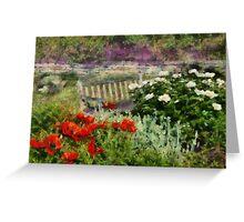 Flower - Poppy - Poppies  Greeting Card