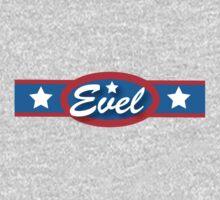 Evel Knievel - Horizontal Strip V.2 Kids Clothes