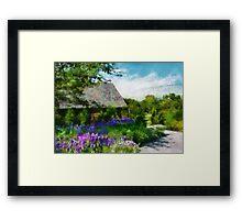 Flower - Town Square  Framed Print
