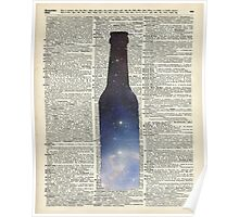 Dictionary Art - Magic Beer,Carina Nebula,Space Art Poster