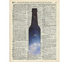 Dictionary Art - Magic Beer,Carina Nebula,Space Art Photographic Print