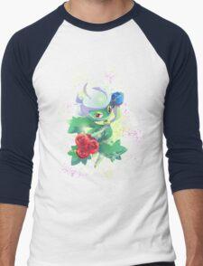 Roserade Men's Baseball ¾ T-Shirt