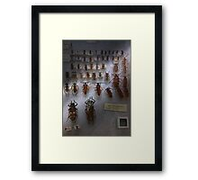 Bug Collector - So what's bugging you Framed Print
