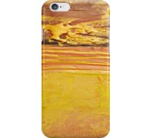 """""""Gold Abstract"""" wall art Original print painting owl decor wall art starry night tree of life iPhone Case/Skin"""