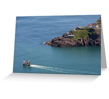 Fort Amherst, Nfld Greeting Card