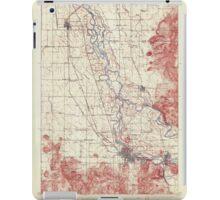 USGS Topo Map Oregon Eugene 282481 1910 62500 iPad Case/Skin