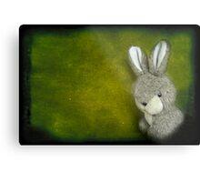 One Bunny Metal Print