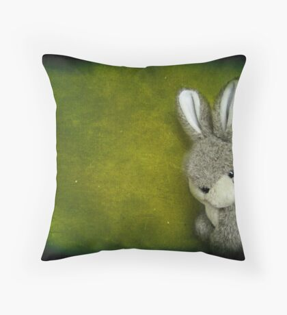 One Bunny Throw Pillow