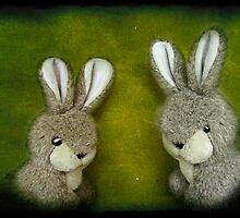 Two Bunnies by henribanks
