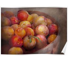 Food - Peaches - Farm fresh peaches  Poster
