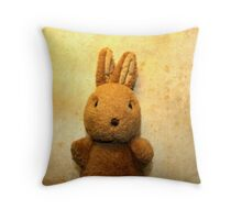 the first Bunny Throw Pillow