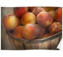Food - Peaches - Just Peachy Poster