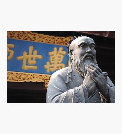 Confucius Photographic Print