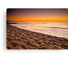 Waiting for the new day  Canvas Print