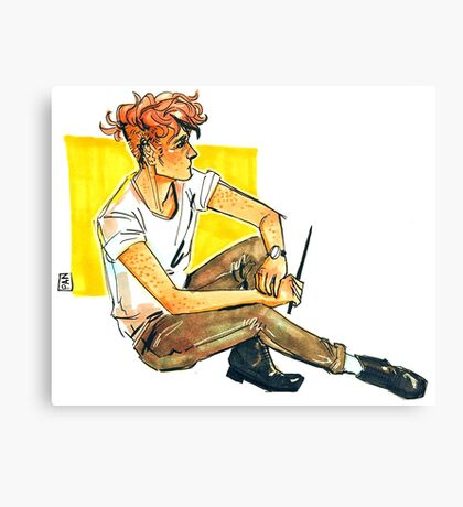 Teddy Lupin Canvas Print