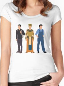 rami malek 2 Women's Fitted Scoop T-Shirt