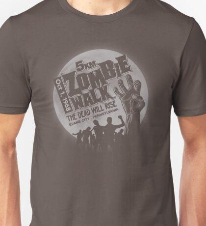 Zombie Walk - Grey Unisex T-Shirt