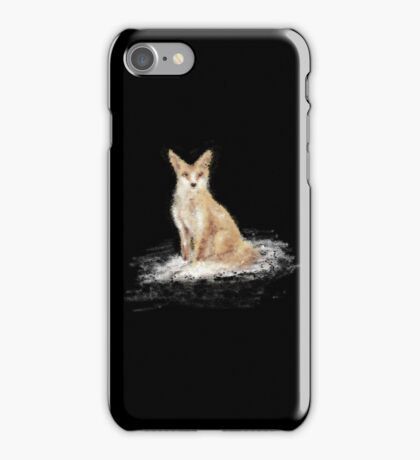 The Lonely Fox iPhone Case/Skin