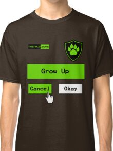 Wild Logo 'Grow Up Options' Tee Classic T-Shirt