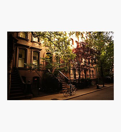 Summer in Greenwich Village Photographic Print