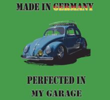 Made in Germany perfected in My Garage bug Kids Clothes