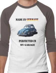 Made in Germany perfected in My Garage bug Men's Baseball ¾ T-Shirt