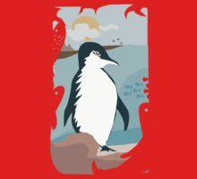 Penguin Vacation Kids Tee